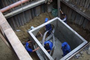 Szennyvízcsatorna javítás